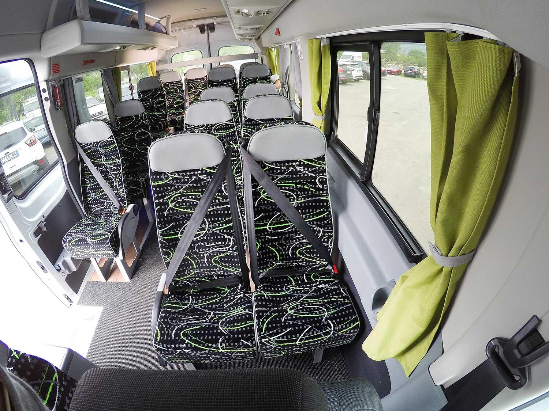 allestimento autobus ford